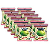 Crunch-a-Mame Organic Edamame Puffs - Single Serving Snack Bags - Savory Seasoned Nearly Naked - Box of 12 Individual-Size 1.1oz Bags