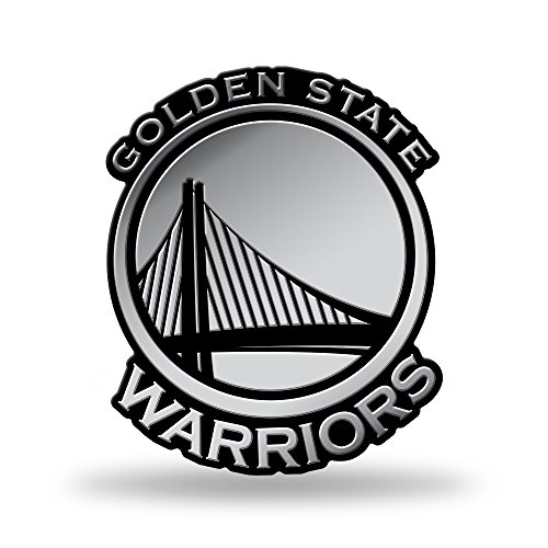 - Rico Industries NBA Golden State Warriors Chrome Finished Auto Emblem 3D Sticker
