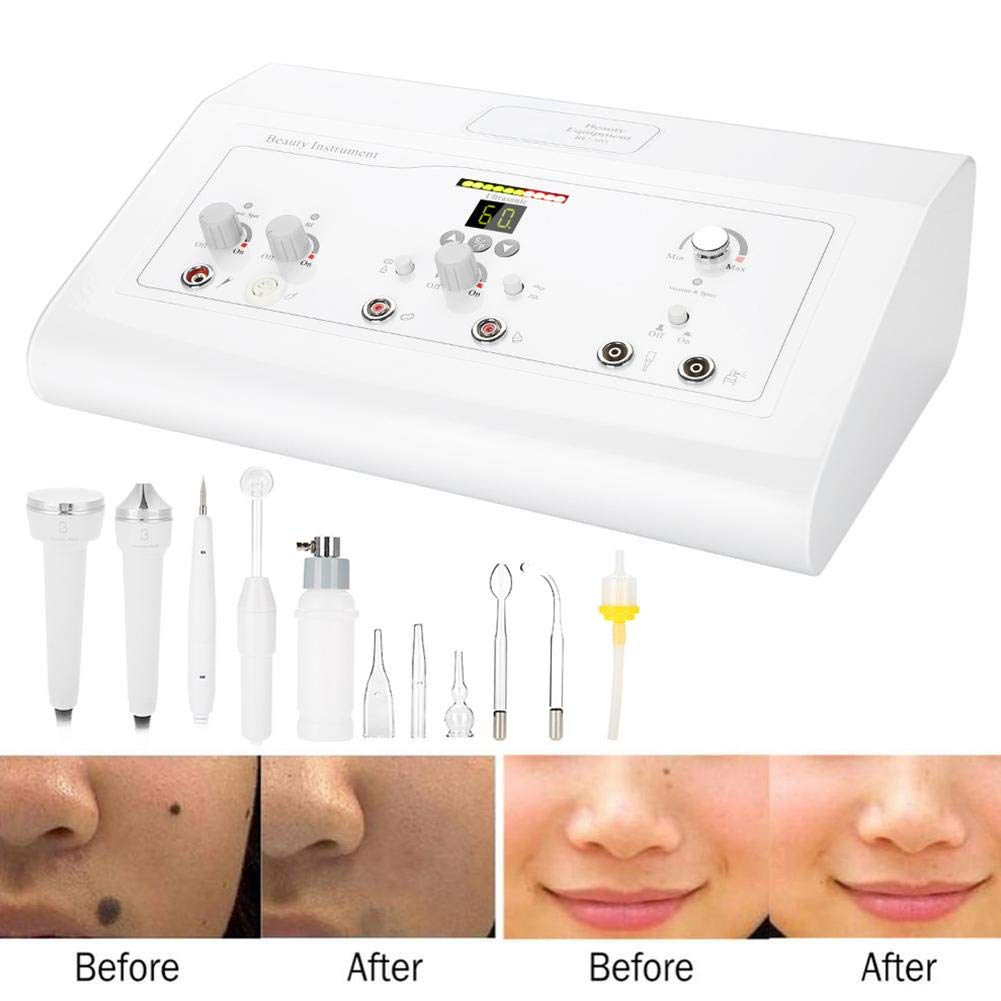 Facial Machine,5 IN 1 Face Skin Rejuvenation Anti Aging Wrinkle/Spot/Blackhead Removal Facial Spray Machine Deep Cleaning(US) by HURRISE (Image #3)