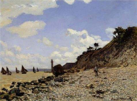 oil-painting-seaside-at-honfleur-1864-by-claude-monet-printing-on-perfect-effect-canvas-12x16-inch-3