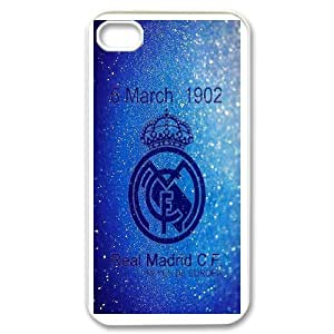 Generic Real Madrid James TPU Cell Phone Cover Case for iPhone 4,4S AS1W8449569