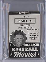 Mel Ott (Baseball Card) 1938 Goudey Big League Baseball Movies - [Base] - Black #3