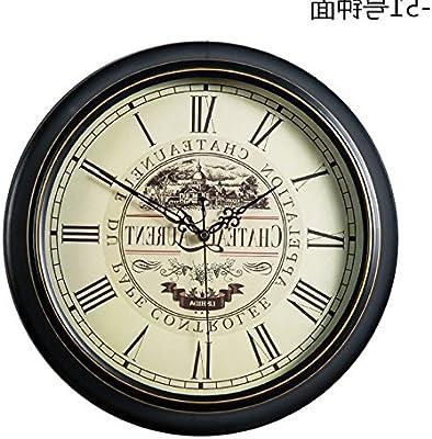 Y-Hui The Quartz Clocks Wall Clock Living Room Round The Mute Clock Home Large