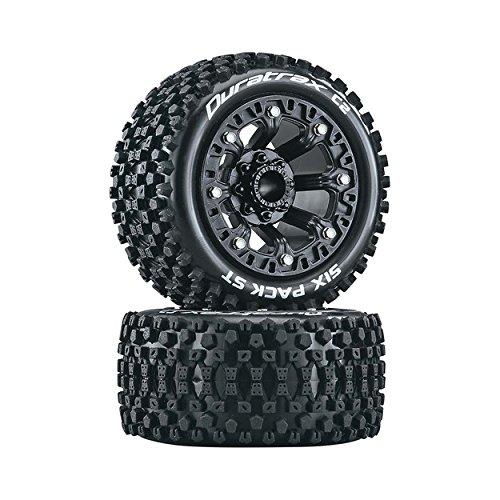 Duratrax Six Pack ST 2.2 Tires, Black (2), DTXC5103