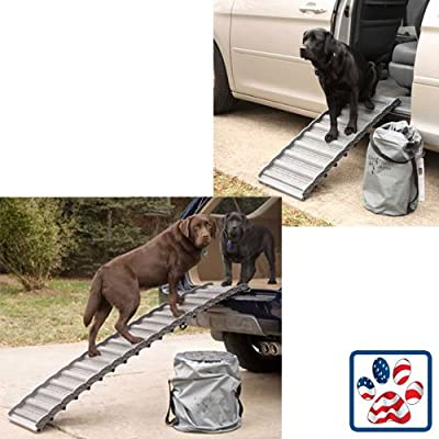 Ramp 4 Paws 18links 65 in L x 15.5 in W from Ramp 4 Paws