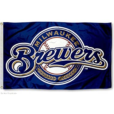 Milwaukee Brewers Flag 3x5 MLB Banner