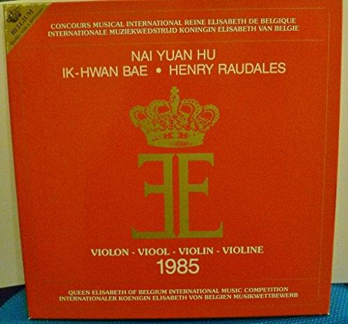 Queen Elizabeth Of Belgium International Music Competition: Violin