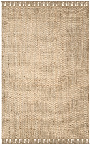 Safavieh Natural Fiber Collection NF467A Hand Woven Natural Jute Area Rug (6