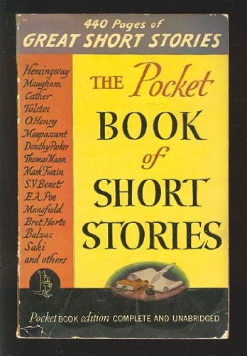 Books : The Pocket Book of Short Stories:  American, English, and Continental Masterpieces.  Edited and With an Introduction.