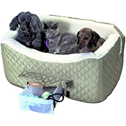 Snoozer Lookout II Pet Car Seat, Large II, Khaki