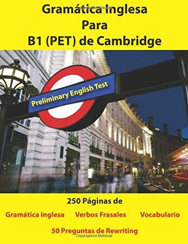 Libro : Gramatica Inglesa Para B1 (PET) de Cambridge  - M...