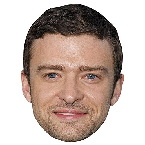 Justin Timberlake Celebrity Mask, Cardboard Face and Fancy Dress Mask