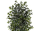 Nearly Natural Artificial 8ft. Ficus Tree