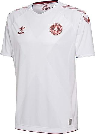 Hummel DBU Away Jersey SS Camiseta Cuello Redondo Manga Corta Poliéster - Camisas y Camisetas (Camiseta, Adulto, Masculino: Amazon.es: Deportes y aire libre