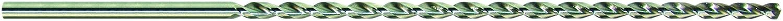 PROFI - Spiralbohrer mit Ü berlä nge, 400 mm Lä nge, HSS - Co, mit Tieflochspirale, Grö ß en: 5,0-13,0 mm WEPO