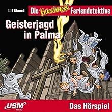 Geisterjagd in Palma (Die Baadingoo Feriendetektive) Hörspiel von Ulf Blanck Gesprochen von: Ingo Abel, Patrick Bach, Jennifer Böttcher