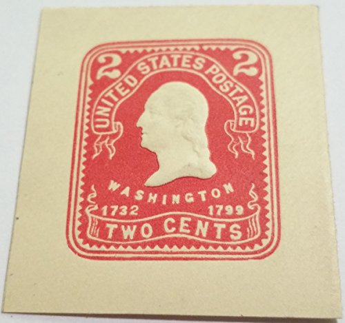 SCOTT#U-399 UNUSED STAMP CUT SQUARE ...U.S STAMPS