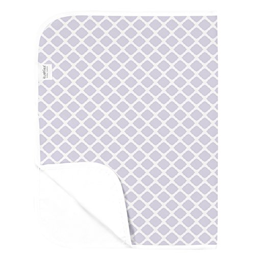 Kushies Baby Deluxe Change Pad, Lilac Lattice