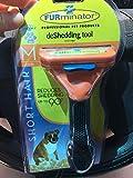 Short Hair deShedding Brush for Medium Dogs 21-50Lbs Edge Blade FURminator Grooming Tool Comb