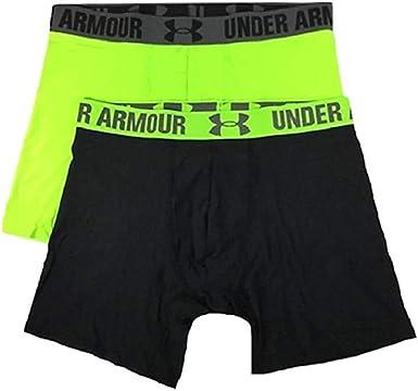 pasillo Descongelar, descongelar, descongelar heladas Fácil de comprender  Amazon.com : Under Armour Men's HeatGear 6'' Boxerjock 2 Pack : Clothing