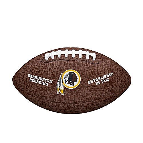 (NFL Team Logo Composite Football, Official - Washington Redskins)