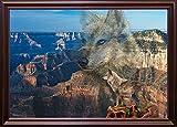 Haunted Canyon Framed Print 18.99''x27.55'' by Gordon Semmens