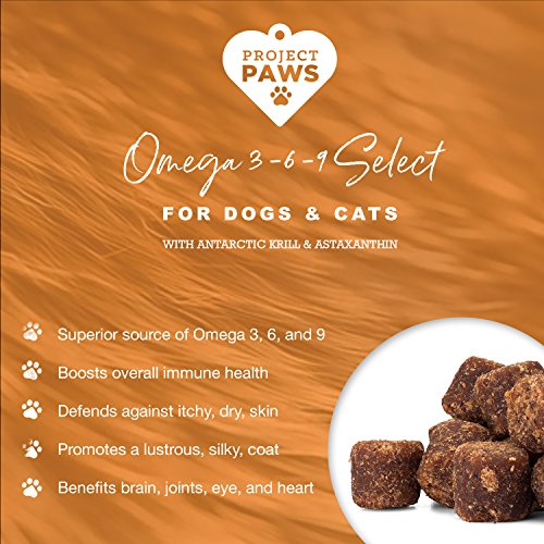 Project Paws Omega 3-6-9 Select Soft Chews 120 Count by Project Paws (Image #3)