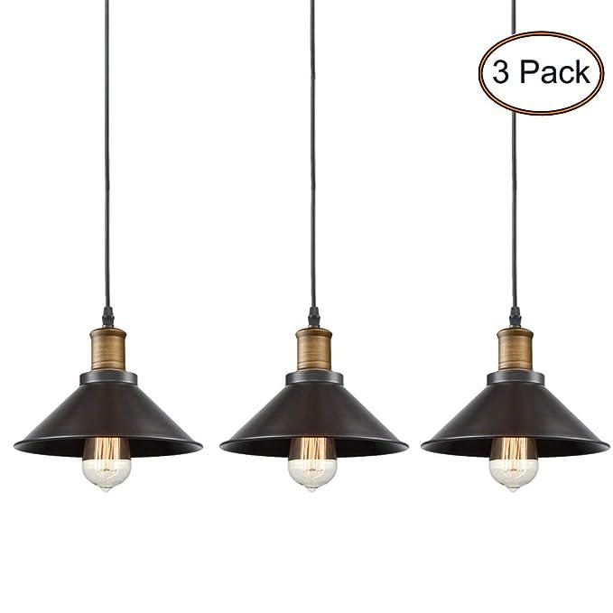 Amazon.com: CLAXY Ecopower Industrial Edison - Lámpara de ...