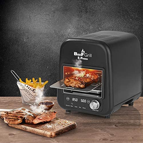E-Power GOURMETMAXX 8100 BeeFGrill Beef Maker, Elektrische grill, 850 °C