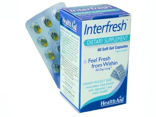 Health Aid Interfresh (Fresh Breath Capsules) - Blister Pack 60 Capsules