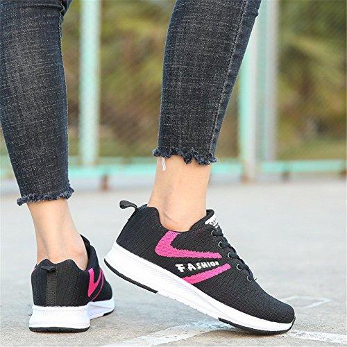 Donna Sportive Fitness amp;BOY Ginnastica rosso a36 Shoes ALI Sneakers Running Gym da Nero Scarpe HYgZxg5q