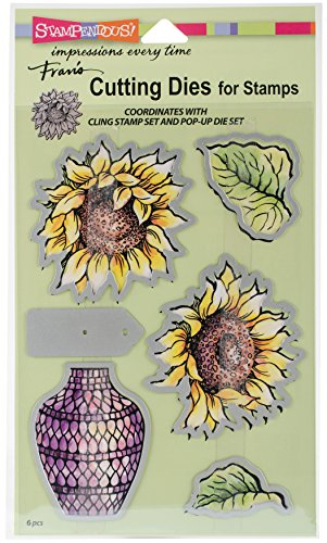 Stampendous DCS5094 Sunny Vase Die Cut - Easter Warehouse