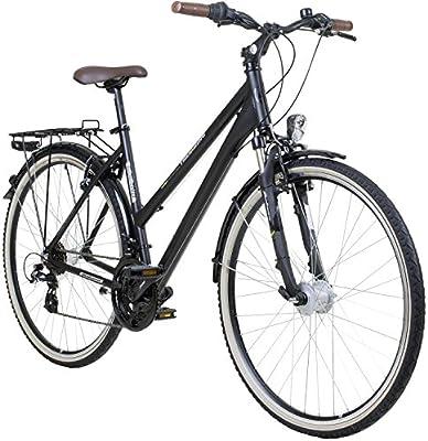 28 pulgadas galano Mujer aluminio bicicleta de trekking Bike ...