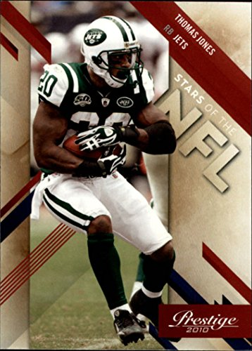 Jones Nfl Thomas Football (2010 Prestige Stars of the NFL #20 Thomas Jones - Football Card)