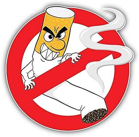 Details about  /No Smoking Sticker ART cool Joke funny vinyl Decal Car Wall moto