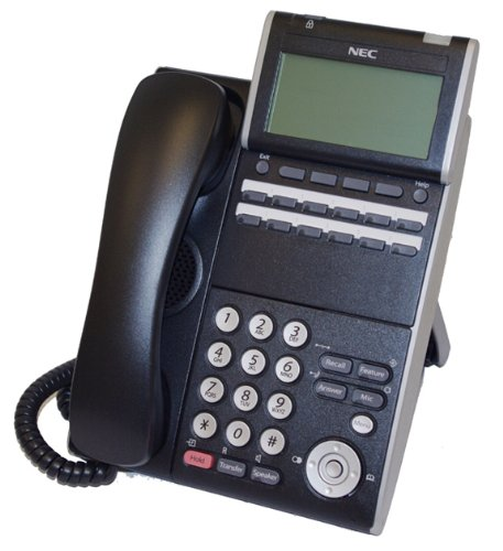 Stock Nec Display (NEC ITL-12D-1 (BK) - DT730 - 12 Button Display IP Phone Black Stock# 690002)