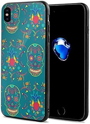 Amazon com: iPhone X Case Skulls Wallpaper iPhone X Mobile