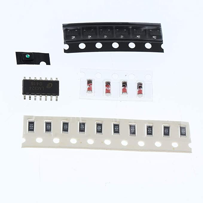 Amazon.com: Jili Online SMT SMD Component Welding Practice Board Soldering Practice DIY Kit 1 Set: Computers & Accessories