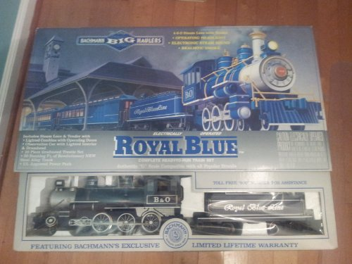(Royal Blue Complete Ready-to-run Train Set