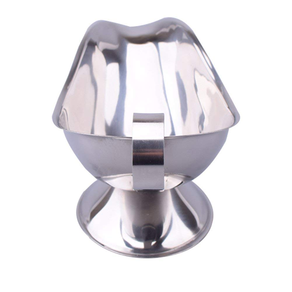 Xeminor Stockton Gravy Boats Sauce Stainless Steel Sauce for Restaurant Server Pack of 1 by Xeminor (Image #3)