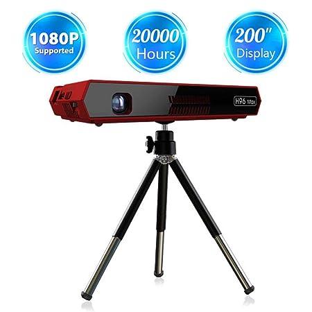 Proyector inteligente, soporte de mini cine en casa portátil ...