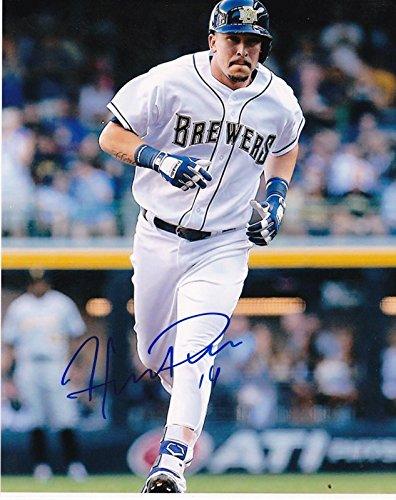 Hernan Perez Autographed Photo - 8x10 - Autographed MLB Photos