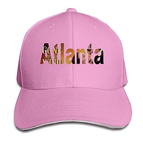 runy-custom-atlanta-adjustable-sandwich-hunting-peak-hat-cap-pink