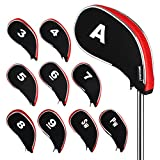 Andux Design Golf Iron Head Covers with Zipper 10pcs/Set
