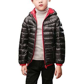 Amazon.com: Zando Children Thin Lightweight Puffer Jacket