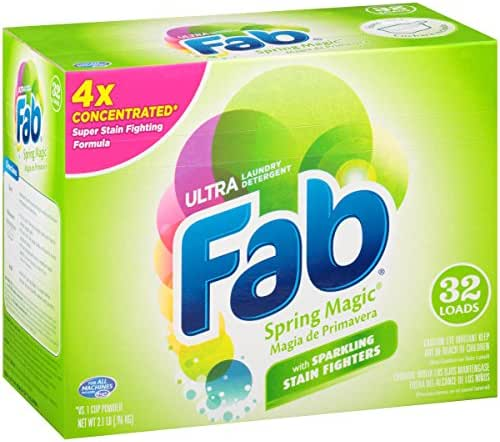 Laundry Detergent: Fab