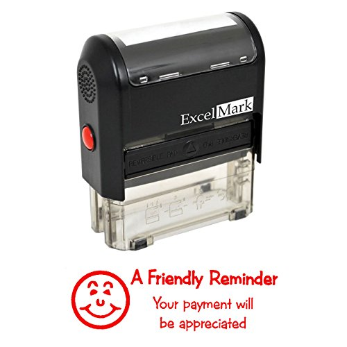 Your Payment Will BE Appreciated - Self Inking Bill Collection Stamp in Red Ink]()
