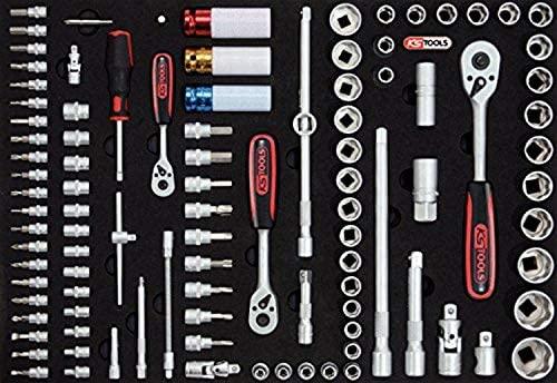 KS Tools 815.1140 Pack Llaves de Vaso (tamaño: 1/4