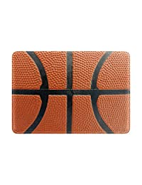 My Daily Basketball Pattern Leather Passport Holder Cover Case Protector
