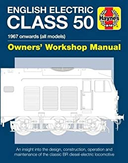 english electric class 50 diesel locomotive manual owners workshop rh amazon co uk Cessna MAINTEANCE Manual Service Manuals